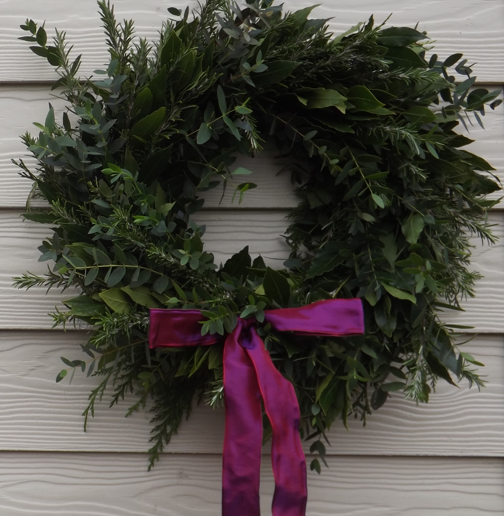 Fragrant Christmas Wreath
